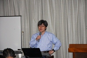 坂田一郎先生顧問 報告