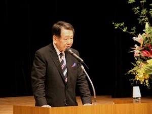 西川太一郎会長 あいさつ